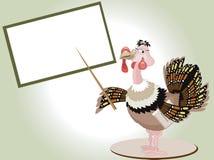 Turkey teacher vector illustration