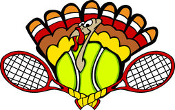 Turkey Tennis Ball Royalty Free Stock Photography