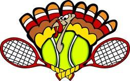 Turkey Tennis Ball. Vector Image of a Tennis Turkey Royalty Free Stock Photography
