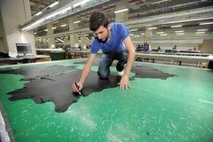 Turkey Textile sector Stock Photos