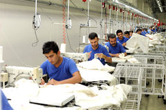Turkey Textile sector Royalty Free Stock Photo