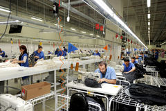 Turkey Textile sector Stock Images