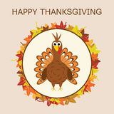 Turkey for thanksgiving day, vector  Royalty Free Stock Photography