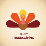 vector turkey for thanksgiving day Royalty Free Stock Images
