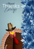 Turkey for Thanksgiving Day Stock Images