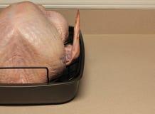 Turkey to the oven 2 Royalty Free Stock Photos