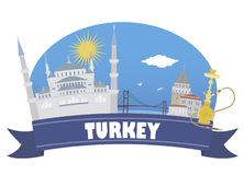 Turkey. Tourism and travel Royalty Free Stock Images