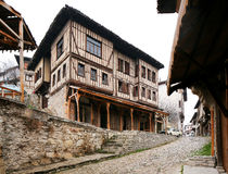 Turkey town. An ancient town Royalty Free Stock Photos