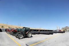 Turkey Tractor factory Royalty Free Stock Photos