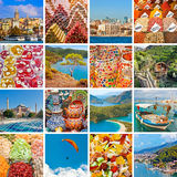 Turkey travel collage Royalty Free Stock Photography