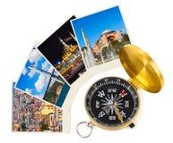 Turkey travel photography on clothespins Stock Photo