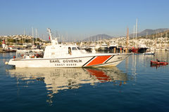 Turkey: Turkish Coast Guard Stock Photo
