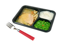 Turkey TV Dinner Stock Photos