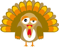 Turkey (vector) Royalty Free Stock Images