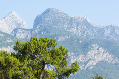 Turkey, view  a peaks of the Taurus Mountains Royalty Free Stock Photography
