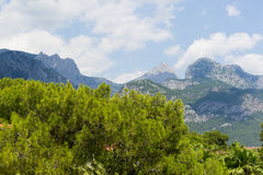 Turkey, view  a peaks of the Taurus Mountains Stock Images