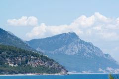 Turkey, view  a peaks of the Taurus Mountains Stock Photography