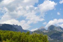 Turkey, view  a peaks of the Taurus Mountains Stock Photos
