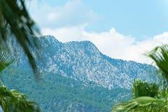 Turkey, view of the peaks of the Taurus Mountains Stock Photos