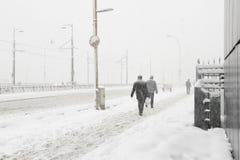 Turkey. A winter day in the Galata bridge-Istanbul/Turkey stock images