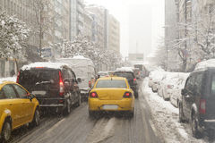 Turkey. A winter day in the Istanbul/Turkey royalty free stock photography