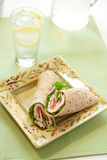 Turkey wrap Stock Photo