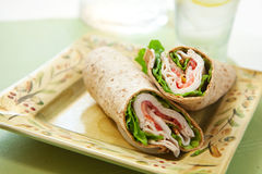 Turkey wrap Stock Images
