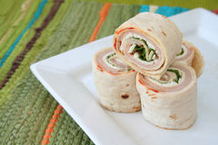 Turkey Wraps Royalty Free Stock Image