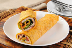 Turkey wraps Stock Photos