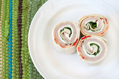 Turkey Wraps Stock Photography
