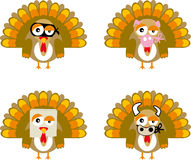 Turkey01 (vector) Foto de archivo libre de regalías