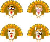 Turkey01 (vetor) Foto de Stock Royalty Free
