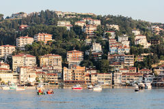Turkeysh bringt Bosfor unter stockfotografie