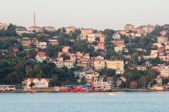 Turkeysh houses Bosfor Royalty Free Stock Photography