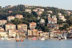 Turkeysh houses Bosfor Stock Photography