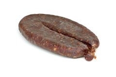 Turkic summer sausage (Sucuk) Royalty Free Stock Photography