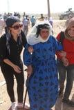 TURKIET ÖPPNADE DESS GRÄNS TILL SYRIAN Royaltyfri Bild