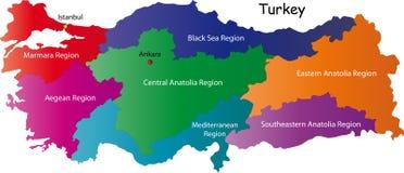 Turkiet royaltyfri illustrationer