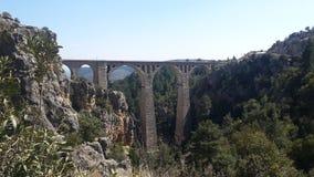 Turkiet Adana tysk bro Arkivbild