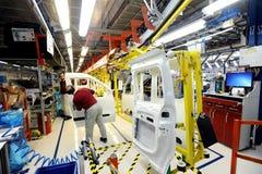 Turkiet automatisk fabrik Royaltyfri Foto