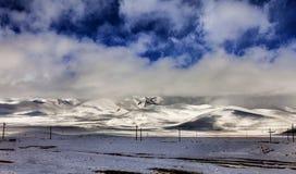 Turkiet centrala Taurus Mountains, Aladaglar (Anti--Oxen), platå Edigel (Yedi Goller) Arkivbild