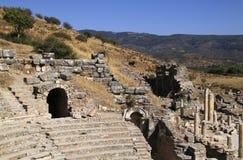 Turkiet Ephesus Arkivfoton