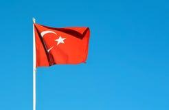 Turkiet flagga Royaltyfri Foto