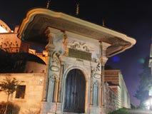 Turkiet istanbul natt Royaltyfri Bild