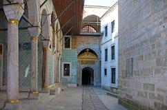 Turkiet Istanbul, Topkapi slott Arkivfoto