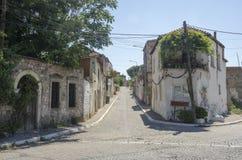 Turkiet Izmir, Bergama arkivbild