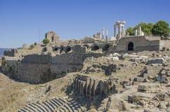 Turkiet Izmir, Bergama royaltyfria foton