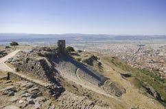 Turkiet Izmir, Bergama Arkivbilder