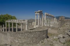 Turkiet Izmir, Bergama arkivfoton
