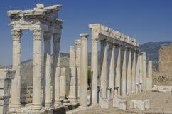 Turkiet Izmir, Bergama royaltyfria bilder